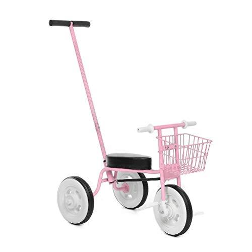 TYUXINSD Kids Toys Didiwei Ride en Tricycle Kids Balance Bike Portátil Bebé Bicicleta Cochecito Triciclo Scooter Aprendizaje Caminar con Pedales (Color: Amarillo) (Color : Pink)
