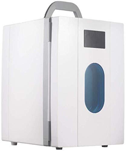 Compacto y ligero 10L mini neveras, refrigeradores eléctricos del coche manija portable...
