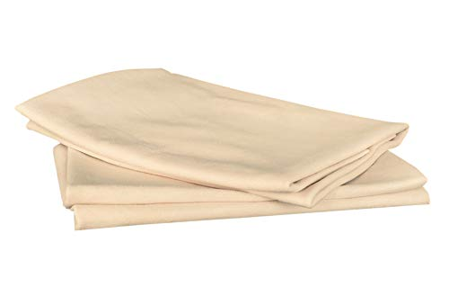 SHEEPSKIN ELITE Chamois Drying Cloth Car Drying Towel Real Leather Super Absorbent Fast Drying Natural Chamois Car Wash Cloth Accessory (2 Pieces, 2 sq ft/Piece)