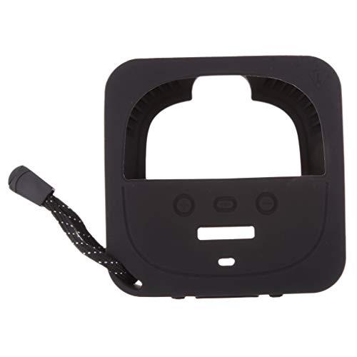Portátil Cubierta Protectora de Silicona para Altavoz de Bose Soundlink Micro - Negro