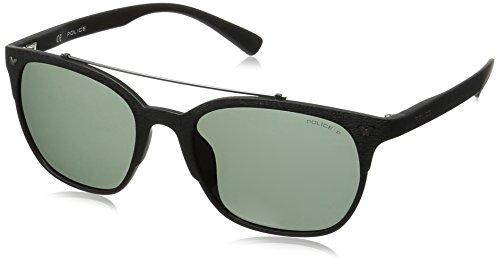 Police Game 5 Gafas de Sol, Negro (Semi Matte Black/Grey), 53.0 para Hombre