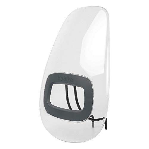 Bobike GO windscherm Macaron Grey 2020 fiets-kinderzitje