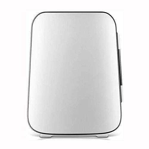 Rindasr Electricidad Nevera, 4 litros de refrigeración portátil y la preservación del Calor refrigerador Compacto, hogar Exterior Mini refrigerador