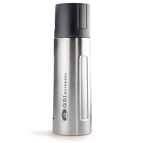 GSI Outdoors Stainless Vacuum Botella, Unisex Adulto, Silver, 1 L