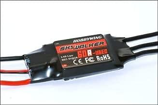 SAUJNN Hobbywing Skywalker 60A UBEC 3A 2-6S LIPO Brushless ESC for RC Heli Multi-Copter