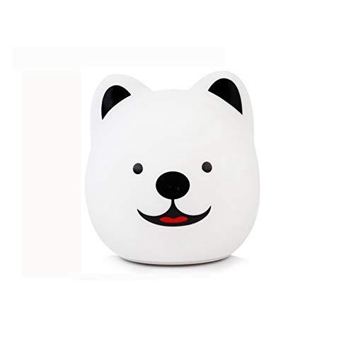 WO Nice Ledlamp voor pups, nachtlicht, intelligent, inductie, afstandsbediening, dimbaar, multifunctioneel, oplaadbaar, tafellamp, cadeau, slaapkamer, bedlampje, verpleegster