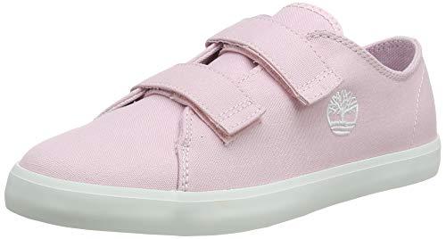 Timberland Newport Bay 2 Strap Oxford (Toddler), Zapatillas Unisex niños, Rosa Light Pink Canvas, 21 EU
