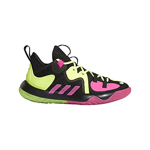 adidas Harden Stepback 2 J, Zapatillas Unisex Adulto, NEGBÁS/TMSOYE/ROSSHO, 39 1/3 EU