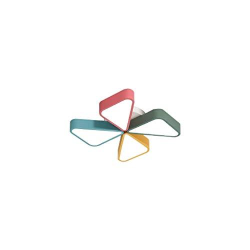 NXYJD Creativa de la lámpara de Techo-Macaron del Molino de Viento de acrílico Hierro Forjado decoración del Dormitorio de los niños Kinder Juegos Lámparas de Techo Iluminación Profesional