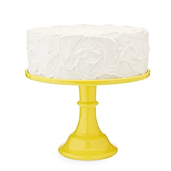 Twine Yellow Melamine Cake Stand Cupcake Stand Home Decor Food Service Dessert Accessory Yellow Set of 1