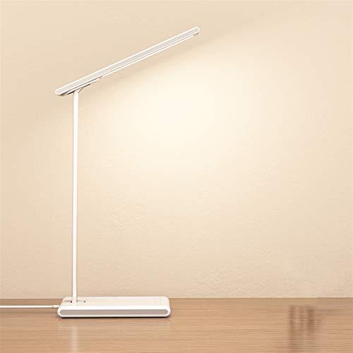 PrittUHU Lámpara de Escritorio de protección de Ojos Plegables LED USB Lectura Recargable Lámpara Lámpara de Sala de Estar Dormitorio de la Oficina Luz de Estudio (Wattage : Rechargeable)