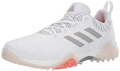 adidas mens Codechaos Golf Shoe, Ftwr White/Crystal Whte/Grey, 11.5 US