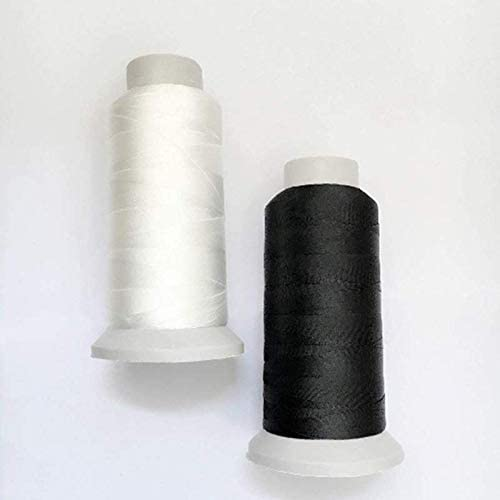 Auspicious firm White+Black 2PCS T70#69 Ranking TOP5 Nylon Bonded Sewing Spring new work one after another Thr