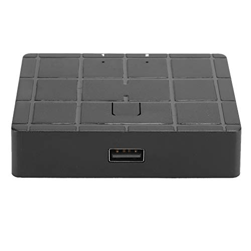 Accesorio de la impresora, Instalación del conmutador USB con la fuente de alimentación ABS para la impresora USB/Scanner/Mouse/Teclado/Disco duro móvil (Negro)