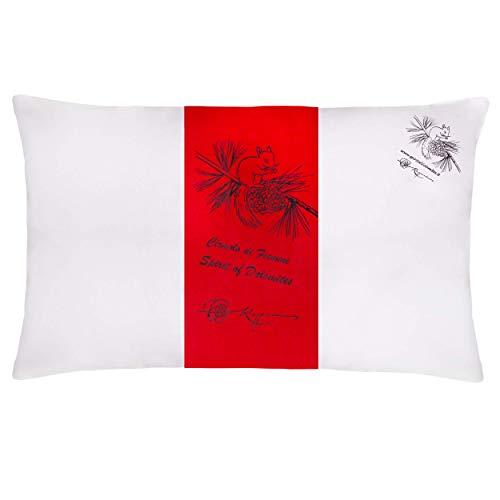 Spirit of Dolomites Cuscino in trucioli di Cirmolo e falda di lana, buon supporto e avvolgente calore - Indispensabile per dormire bene - Prodotto in Trentino