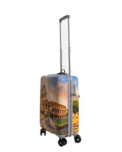 Trolley Rigido Cabina Ynot Roma 4 Ruote TSA