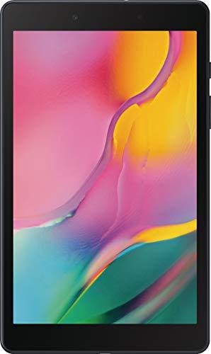 "Samsung Galaxy Tab A 8.0"" (2019, WiFi + Cellular) 32GB, 5100mAh Battery, 4G LTE Tablet & Phone (Makes Calls) GSM Unlocked SM-T295, International Model (Black) (Renewed)"