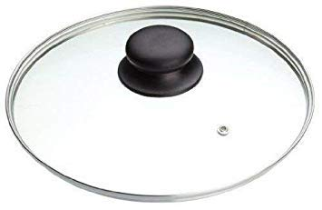 Bahob Tempered Glass Saucepan Casserole Frying pan Lid KitchenCraft Replacement Glass Lids for Pans Pots and Casseroles 14CM to 36CM (28 cm)
