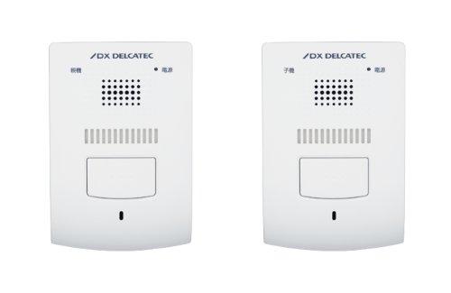DXアンテナ『ワイヤレスインターホン 親機・室内子機セット(DWP10A2)』