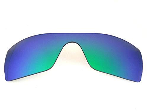 Galaxy vervangende lenzen voor Oakley Batwolf groene kleur gepolariseerd