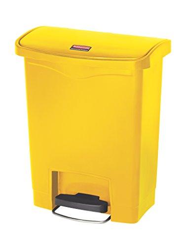 Rubbermaid Contentor com Pedal 30L Amarelo - RUBFG614300YEL
