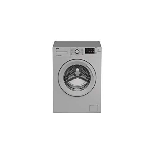 BEKO WM1015CHS Lave-linge frontal - 10 kg - 1200 trs min - 15 programmes - A+++ (-10%) - Silver
