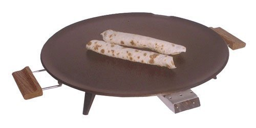 Bethany Griddle Heritage 1450 W 16 In. Dia. Silverstone Non-Stick, Wood...