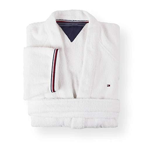 Tommy Hilfiger Kimono Uni Serie Größe L Farbe White