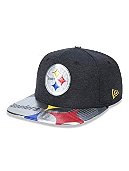 New Era NFL Pittsburgh Steelers 2017 Draft On Stage 9Fifty Snapback Cap One Size Black