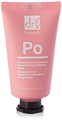 Dr Botanicals Pomegranate Superfood Regenerating Sleeping Mask 30 ml (Pack of 1) from Dr Botanicals