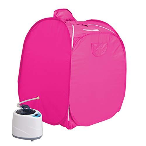 Flashing rookmachine in de Sauna Box lontbox, zweetdoos, watercapaciteit 1,8 l slechts 1~9 temperatuurinstelling