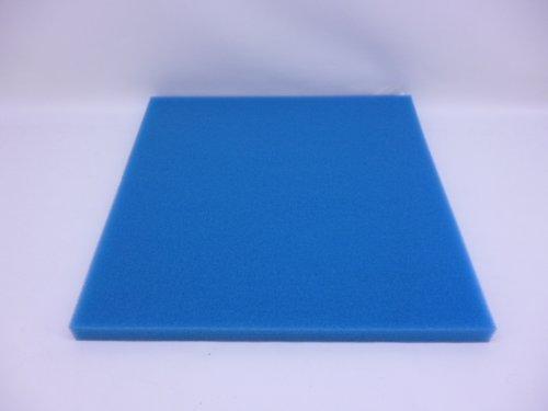 Hobby schiuma filtrante fine, 3x 50x 50cm, colore: blu filtro di ricambio, impianto a osmosi filtro, acqua