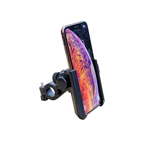 Gazaar Soporte para teléfono para Bicicleta y Motocicleta, Soporte Movil Universal para teléfono para Bicicleta con Plastico Manillar de Montaña Cochecito y Scooter para la mayoría de teléfonos