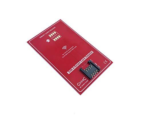 GMMC Adaptateur SIM Universel Mini SIM Adaptateur Micro SIM Adaptateur Nano SIM Carte Hybride avec NFC