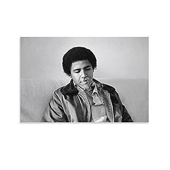 obama smoking poster