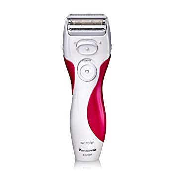 Panasonic Electric Shaver for Women Cordless 3 Blade Razor Pop-Up Trimmer Close Curves Wet Dry Operation Independent Floating Heads - ES2207P