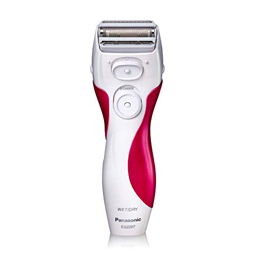 Panasonic Electric Shaver for Women, Cordless 3 Blade Razor, Pop-Up Trimmer, Close Curves, Wet Dry...
