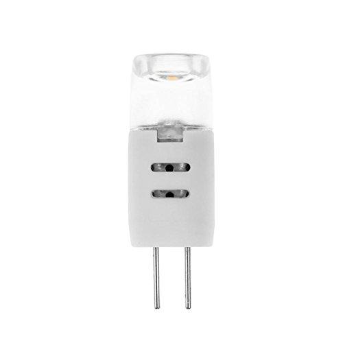 Matefielduk LED-maïslamp G4 AC 12 V 1,3 W dimbaar SMD2835 2 LED maïslamp voor kroonluchter van glas [energie-efficiëntieklasse WW.