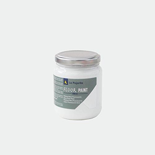 La Pajarita Fluor Paint Fluorescente Blanco 175 ml