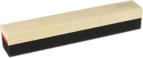 Quartet Deluxe Scofoam Chalk Eraser, 12 x 2 x 2 Inches, Suede Grip, Tan and Black (ESC12)