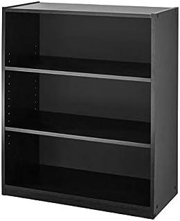 Mainstay. 3-Shelf Bookcase - Wide Bookshelf Storage Wood...
