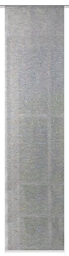 fashion-and-joy Rideaux coulissants Type 127 Bleu 245/cm x 60/cm chocolat