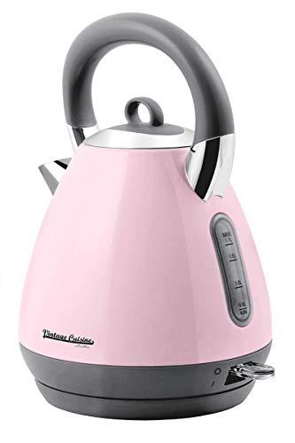 Wasserkocher Vintage Cuisine by Cooking 1800-2200W 1.70L (Pink)