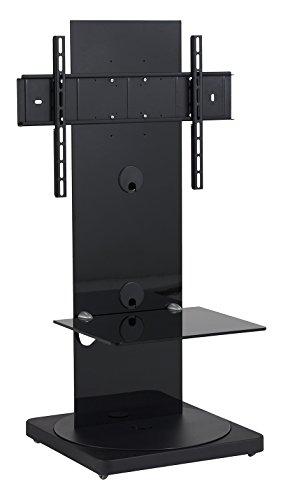 Preisvergleich Produktbild Gisan FS-101 NE Standfuß für TV Geräte mit einer Bildschirmdiagonale bis 165 cm (65 Zoll),  schwenkbar (+ / -15°),  höhenverstellbar (915 bis 965mm),  Traglast max. 35kg,  VESA max. 600x400,  schwarz