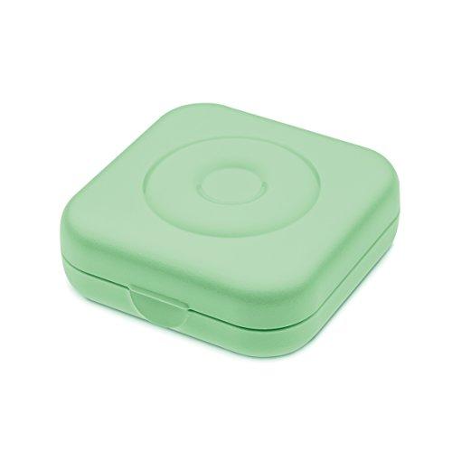 Koziol Private Box Mint Aufbewahrungsbox, Plastik, 6.5 x 6.5 x 2.3 cm