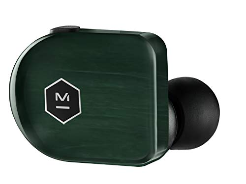 Master & Dynamic MW07 Plus True Wireless Earphones - Noise Cancelling with Mic Bluetooth, Lightweight in-Ear Headphones - Luxury Jade Green