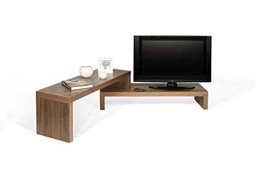 TemaHome, Cliff TV Tisch,125x38x20 cm, Nussbaum