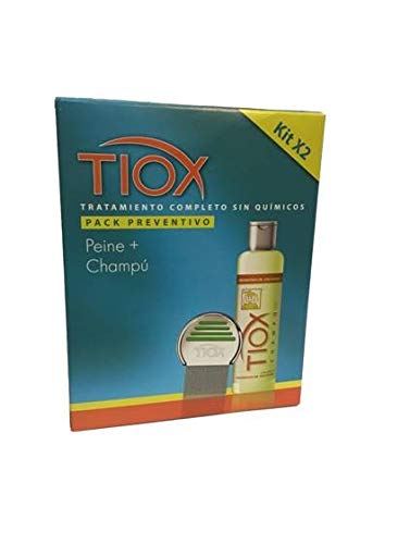 Kit Preventivo ASSY Champú 250 ml + Lendrera (A partir de 4 Años)