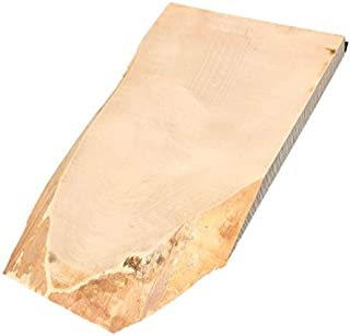 【送料無料!】トチ 栃 とち 無垢材 天然木 端材 DIY用 カッティングボード 52×31.5×4㎝ 【ワールドデコズ】