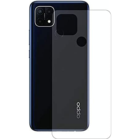 Cassby HD 3 Layer Back TPU Protector [Not Glass] [Anti-Scratch] Flexible Film for Oppo A15S